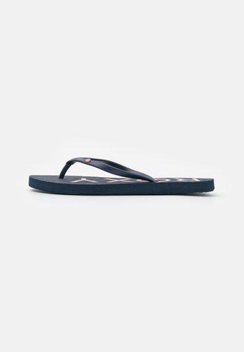 SANDY  - Pool shoes - blue indigo
