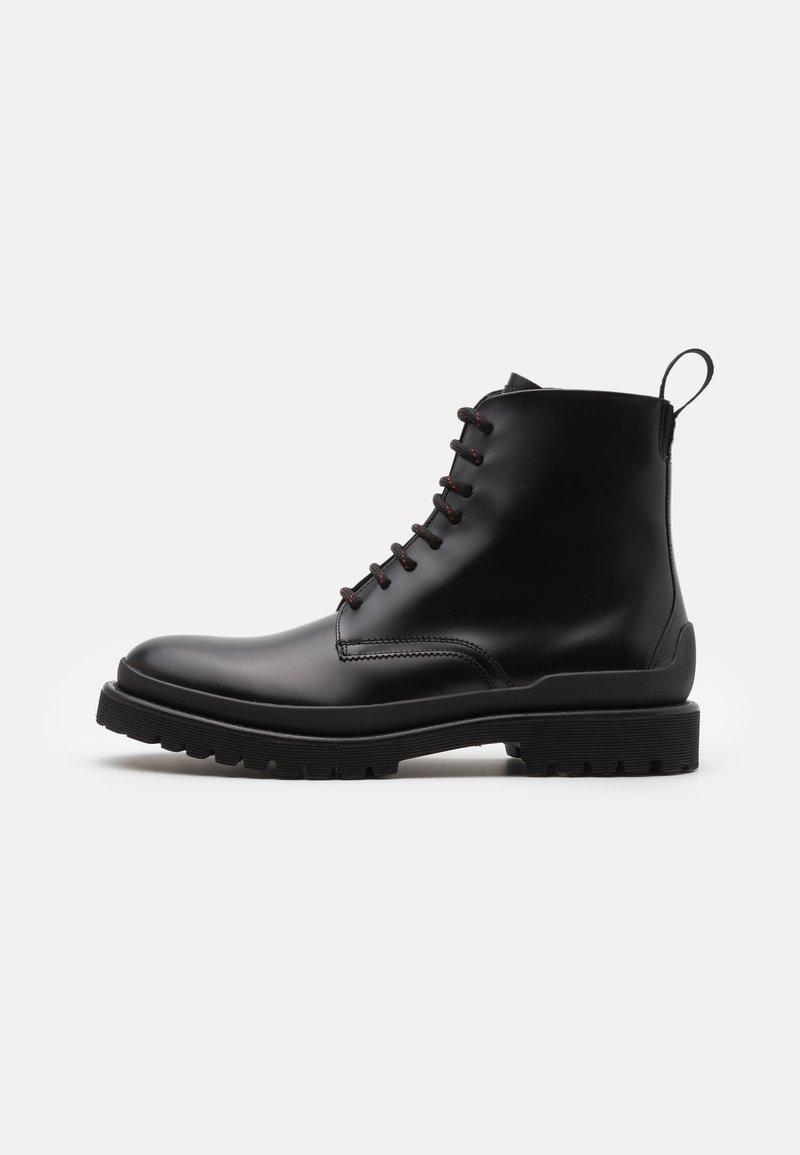 HUGO - ADVENTURER - Šněrovací kotníkové boty - black