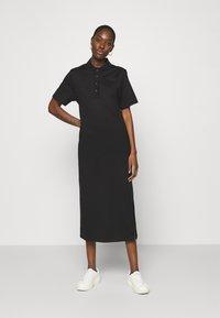 Lacoste LIVE - Jersey dress - black - 0