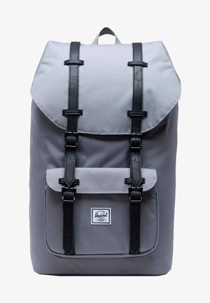 LITTLE AMERICA - Tagesrucksack - grey/black