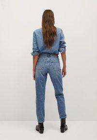 Mango - NEWMOM - Straight leg jeans - bleu moyen - 2