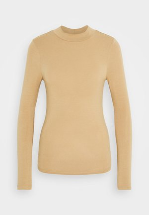 TURTLE NECK - Long sleeved top - camel