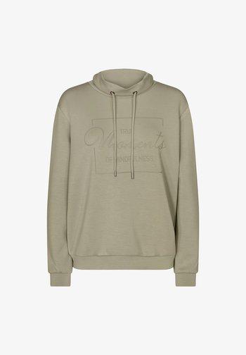 Sweatshirt - dusky green