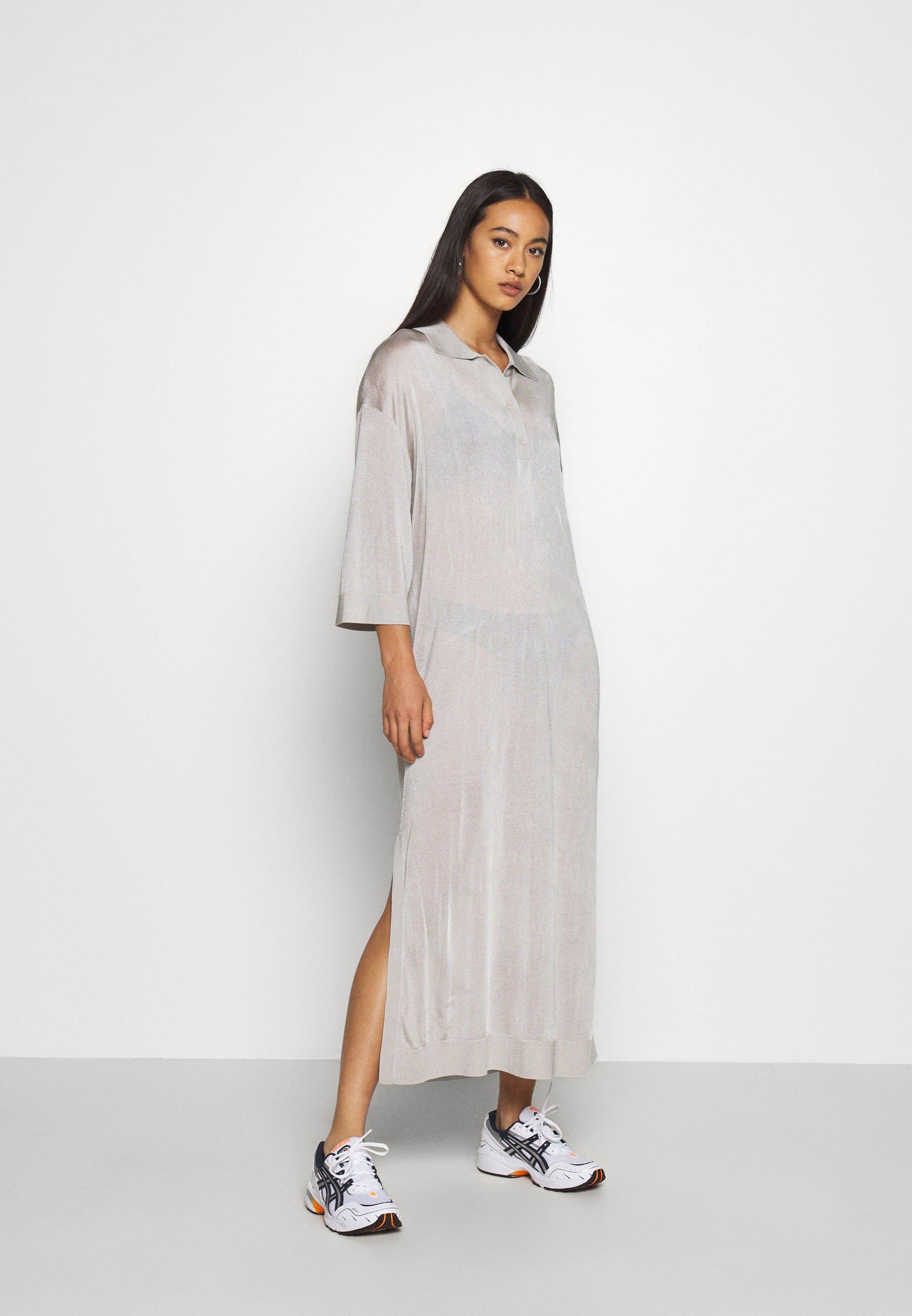 Weekday MONIQUE DRESS - Robe d'été - beige - Robes femme kr4bY