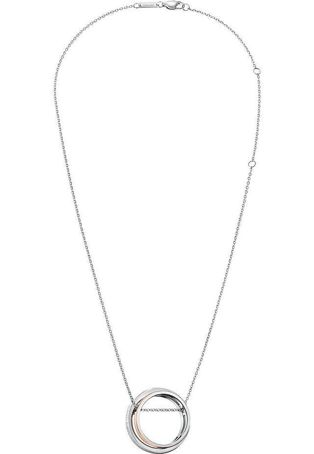 CALVIN KLEIN DAMEN-KETTE UNITE EDELSTAHL - Necklace - bicolor
