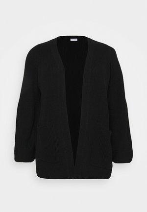 VIOA POCKET CARDIGAN - Cardigan - black