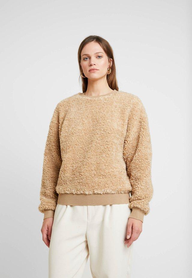 JUMPER LILLAN - Pullover - sand