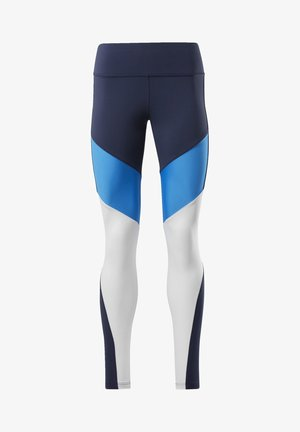 LUX COLORBLOCK 2 LEGGINGS - Leggings - blue