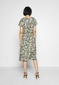 Barbara Lebek - Day dress - denim blue/ lemon/ orange - 3