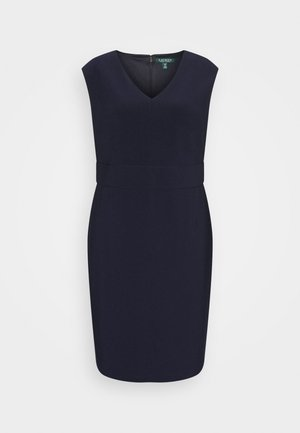 JANNETTE CAP SLEEVE DAY DRESS - Kotelomekko - lighthouse navy