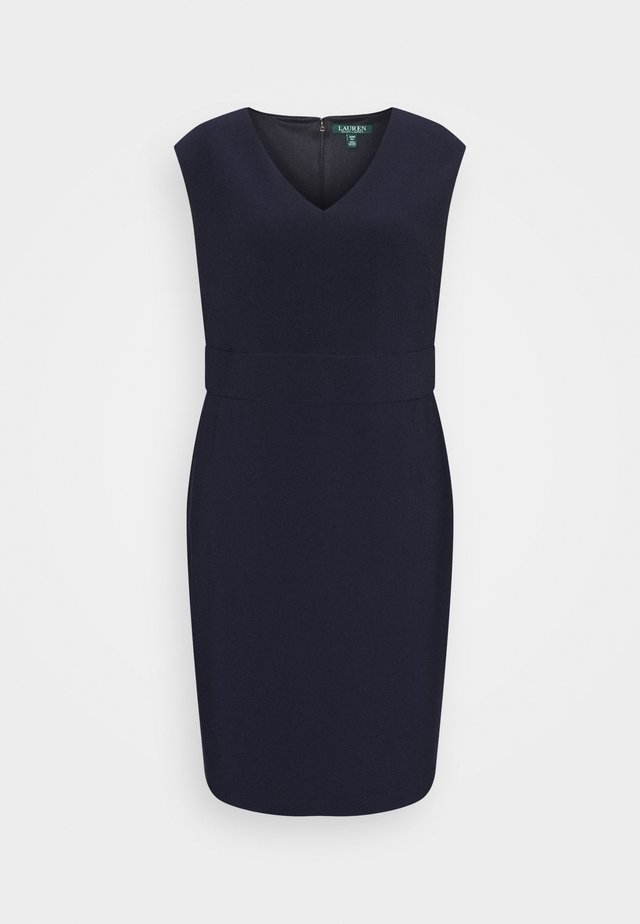 JANNETTE CAP SLEEVE DAY DRESS - Etuikjole - lighthouse navy