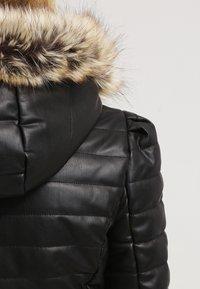 Morgan - CRAIE - Faux leather jacket - noir - 4