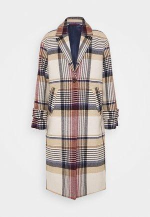 BLEND OVERCOAT - Classic coat - warm khaki