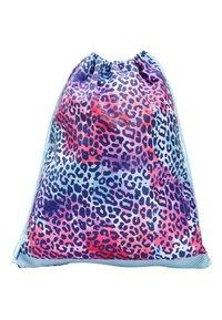 Next - COBALT ANIMAL PRINT DRAWSTRING BAG - Drawstring sports bag - pink - 0