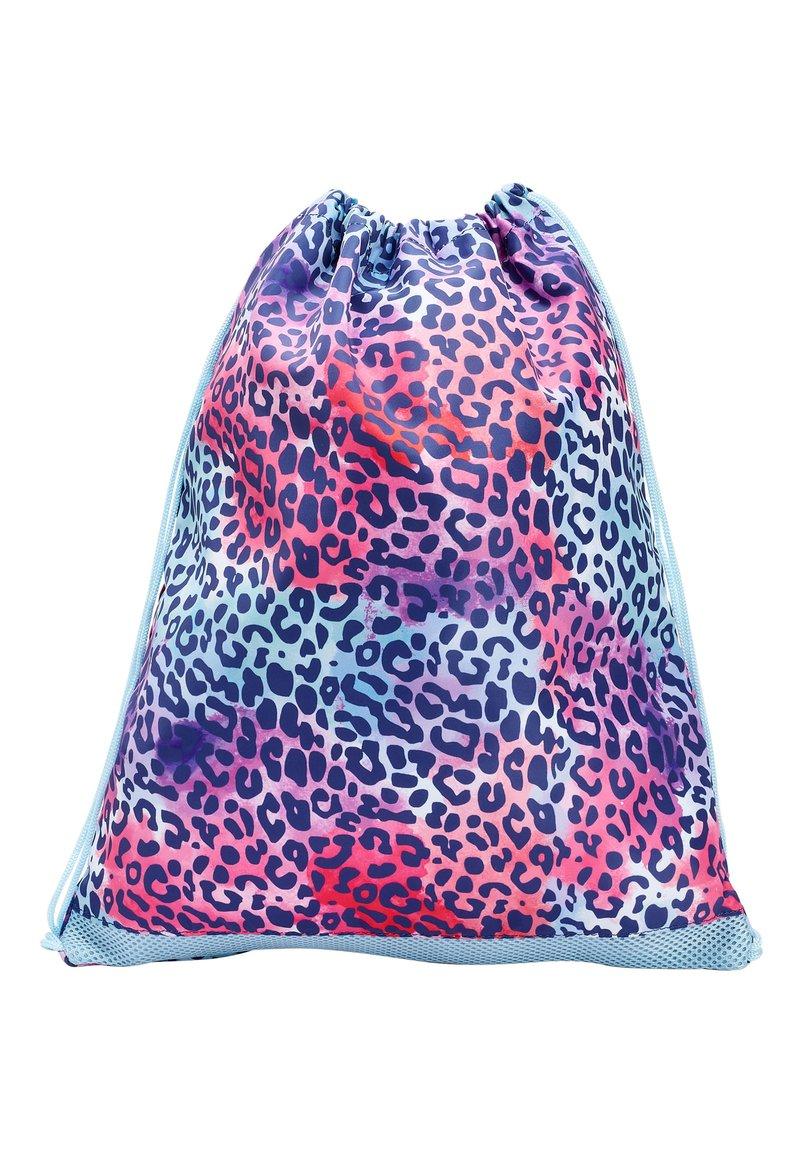 Next - COBALT ANIMAL PRINT DRAWSTRING BAG - Drawstring sports bag - pink