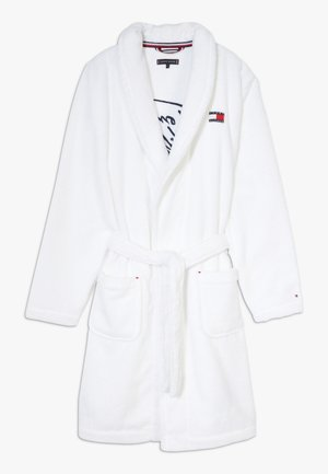 TOWELLING ROBE SIGNATURE - Dressing gown - white