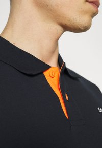 Schott - PSMILTON - Polo shirt - navy/orange - 3