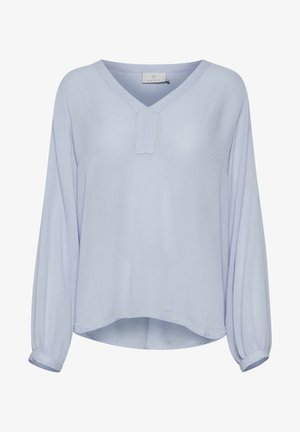 AMBER BLOUSE - Blouse - chambray blue
