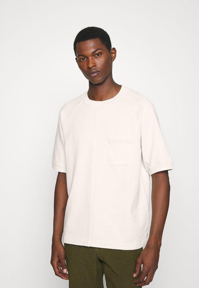 OVERSIZE CREW - Sweatshirt - egret