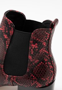 Faith - BEADED - Ankle boots - red - 2