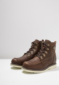 Harley Davidson - HAGERMAN - Lace-up ankle boots - brown - 2