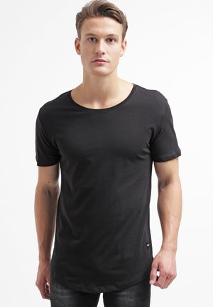 ONSMATT LONGY TEE - Basic T-shirt - black