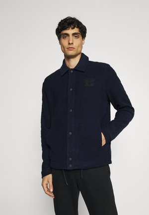 LOOPBACK COACH - Summer jacket - marine