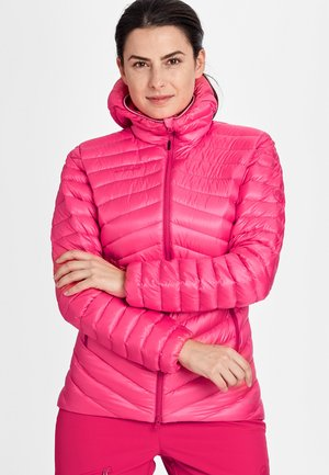 Down jacket - dragon fruit