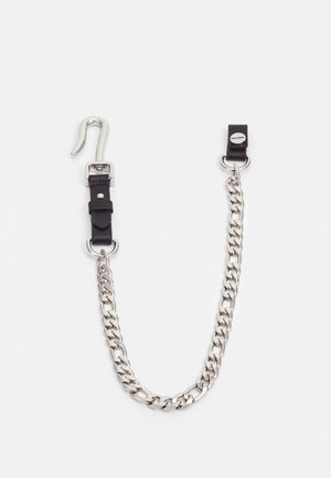 MEKANS UNISEX - Keyring - black/silver-colored