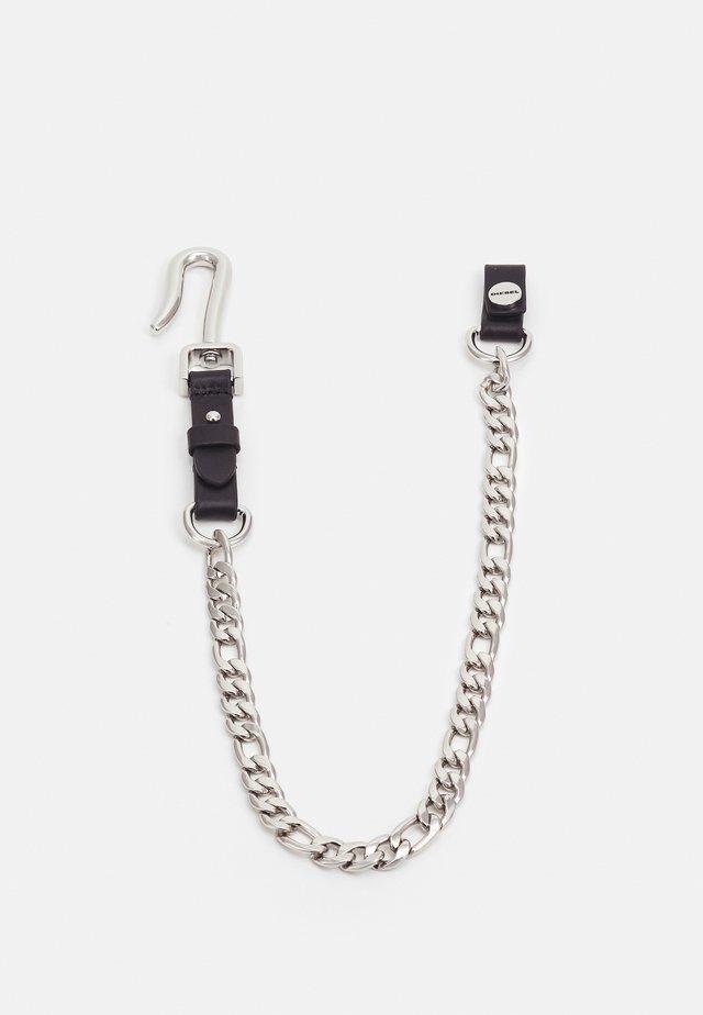 MEKANS UNISEX - Keyring - black/silver-colored