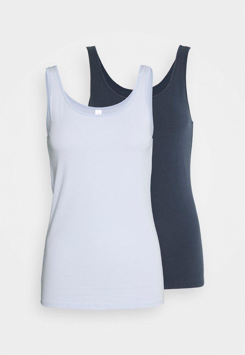 Schiesser - Undershirt - blue, grey