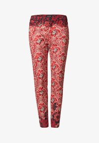 Desigual - DESIGNED BY M. CHRISTIAN LACROIX - Pantalones - red - 4
