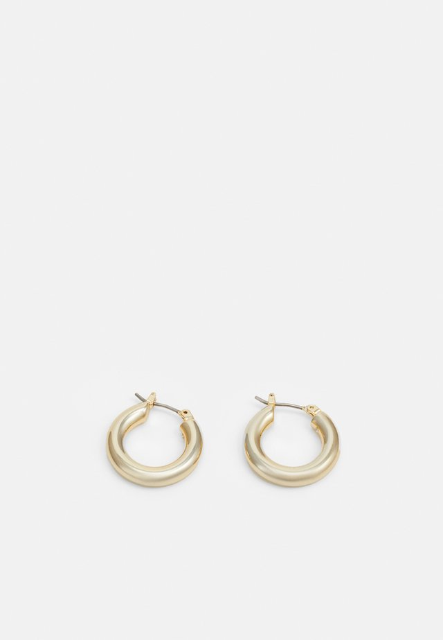 BASIC SMALL HOOP - Boucles d'oreilles - gold-coloured