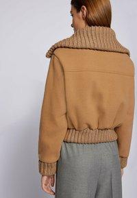 BOSS - JALEANA - Light jacket - light brown - 4