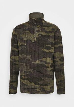 STEWART MENS  - Fleece jumper - pine grey