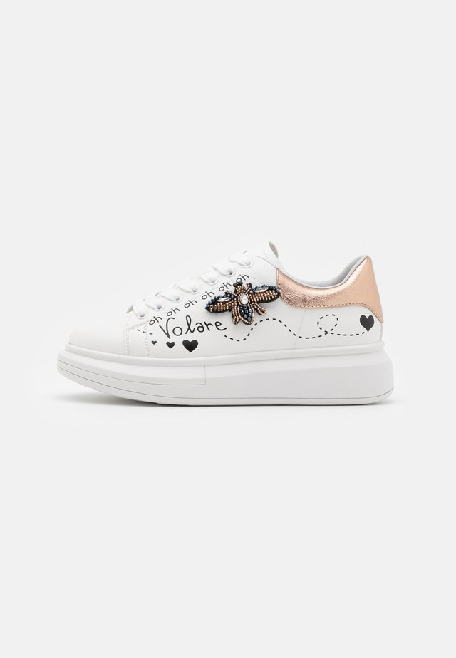Sneakers laag - soft bianco/ape