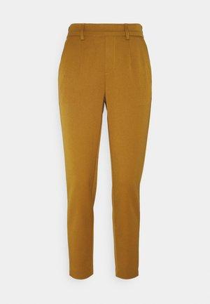 OBJLISA SLIM PANT SEASONAL - Trousers - tapenade