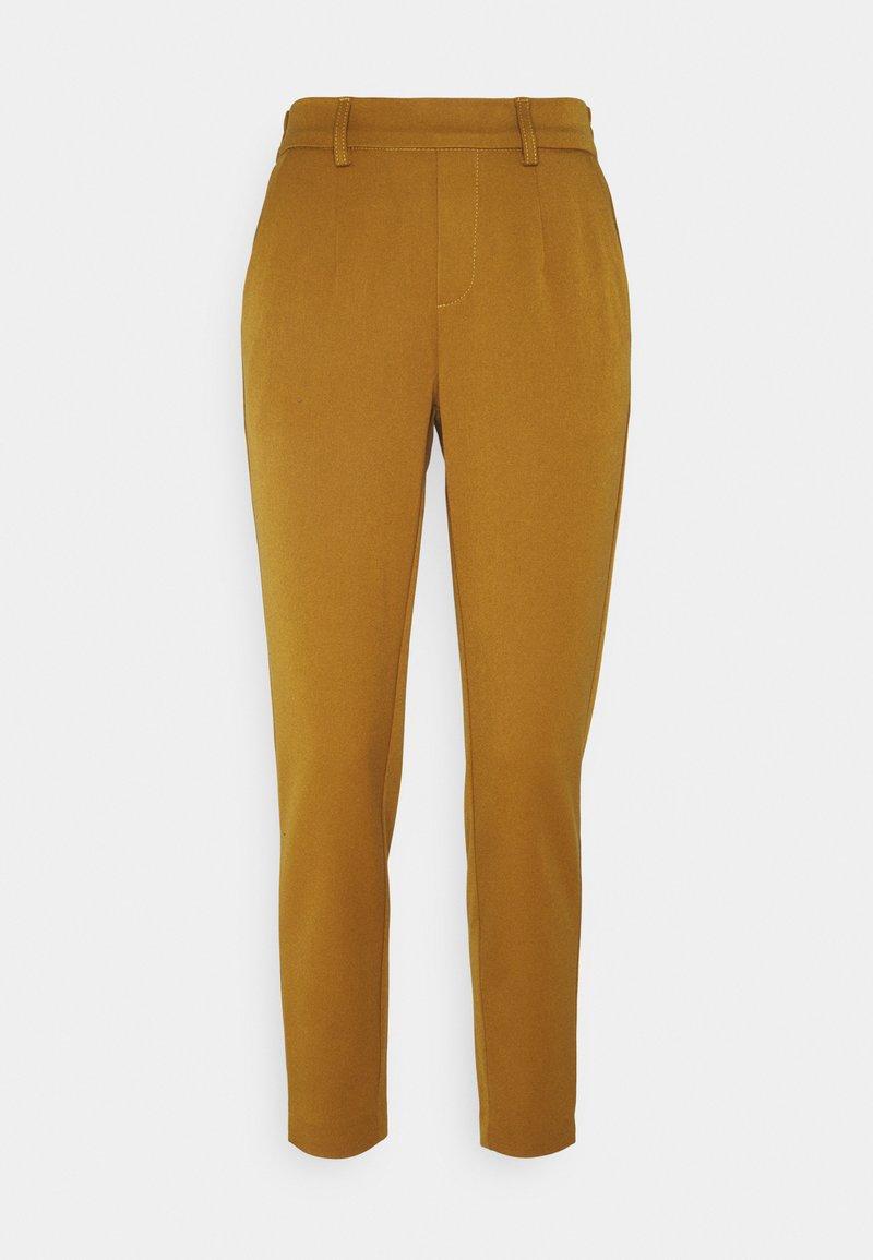 Object - OBJLISA SLIM PANT SEASONAL - Trousers - tapenade
