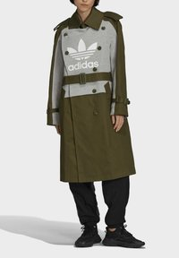 adidas Originals - Dry Clean Only xTRENCH COAT - Classic coat - wild pine - 3