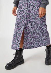 PULL&BEAR - A-line skirt - black - 3
