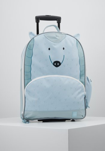 ABOUT FRIENDS LOU ARMADILLO - Wheeled suitcase - blue