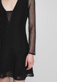 Stevie May - GALLERY MINI DRESS - Denní šaty - black - 6