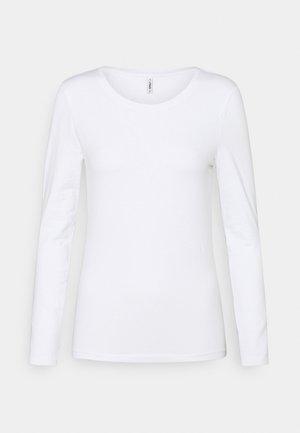 ONLFIFI LIFE O NECK - Long sleeved top - bright white