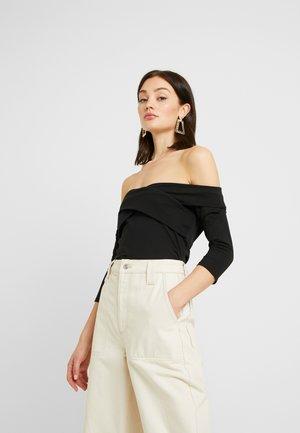 BODYSUIT - Bluzka z długim rękawem - black