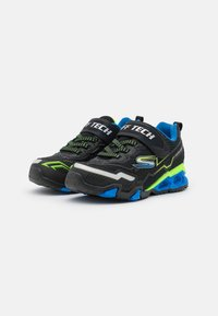 Skechers - HYDRO LIGHTS - Trainers - black/blue/lime - 1