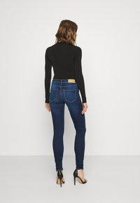 Noisy May - NMALICE  - Jeans Skinny Fit - dark blue denim - 2