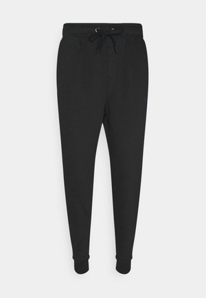 RAW EDGE LOUNGE JOGGER - Pyjama bottoms - black