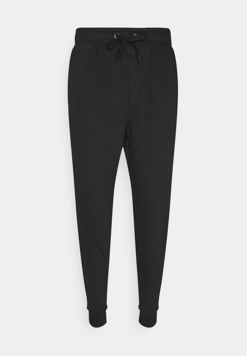 Calvin Klein Underwear - RAW EDGE LOUNGE JOGGER - Pyjama bottoms - black
