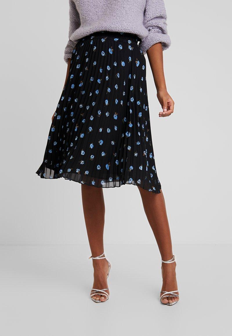 Minimum - VINETTA - A-line skirt - black