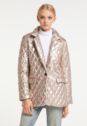 Short coat - champagner